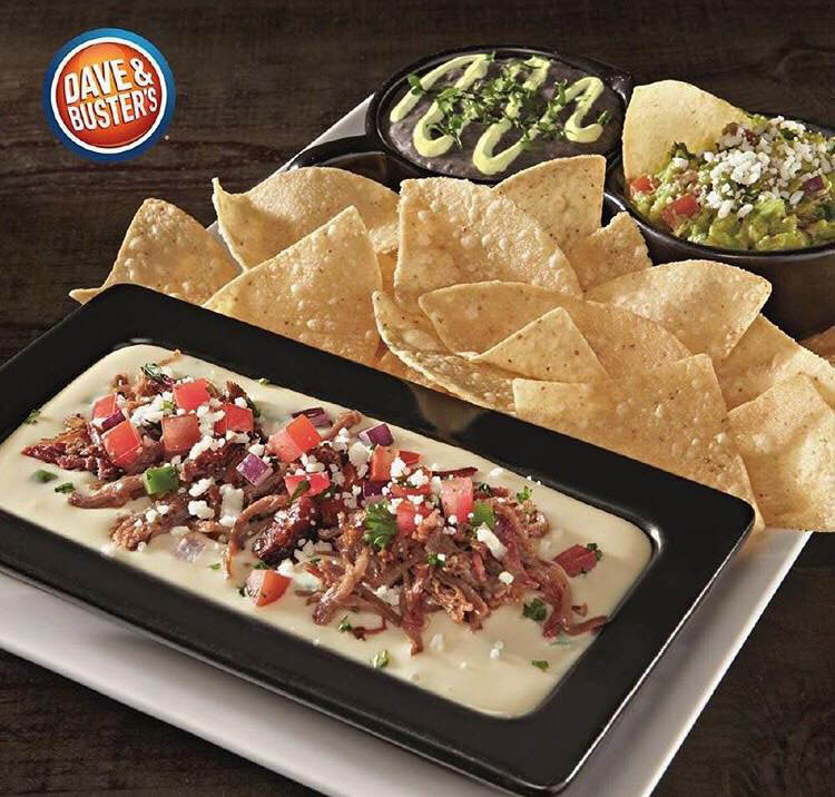 dave & buster's restaurant appetizers