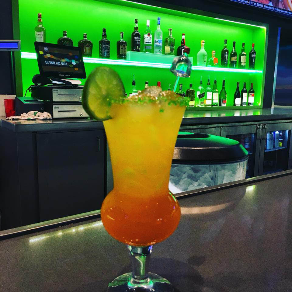 dave & buster's restaurant drinks and beverages