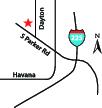 Dayton Dental location map