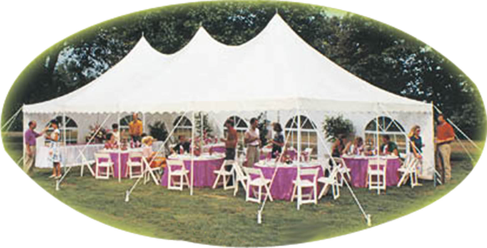 Party tent and other party rentals near Central Islip
