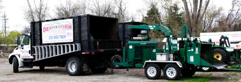 photo of truck from Dearborn Tree Service in Westland, MI