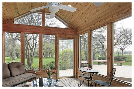 Deck Heads greater frederick, md area Screened in porch