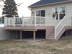 photo of deck from Decks Unlimited in Southgate, MI