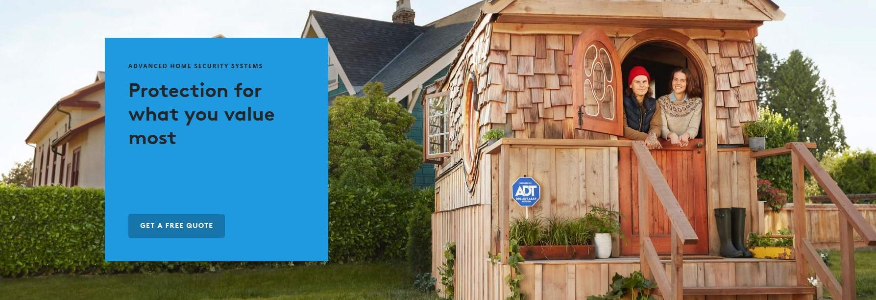 ADT Protect your home banner