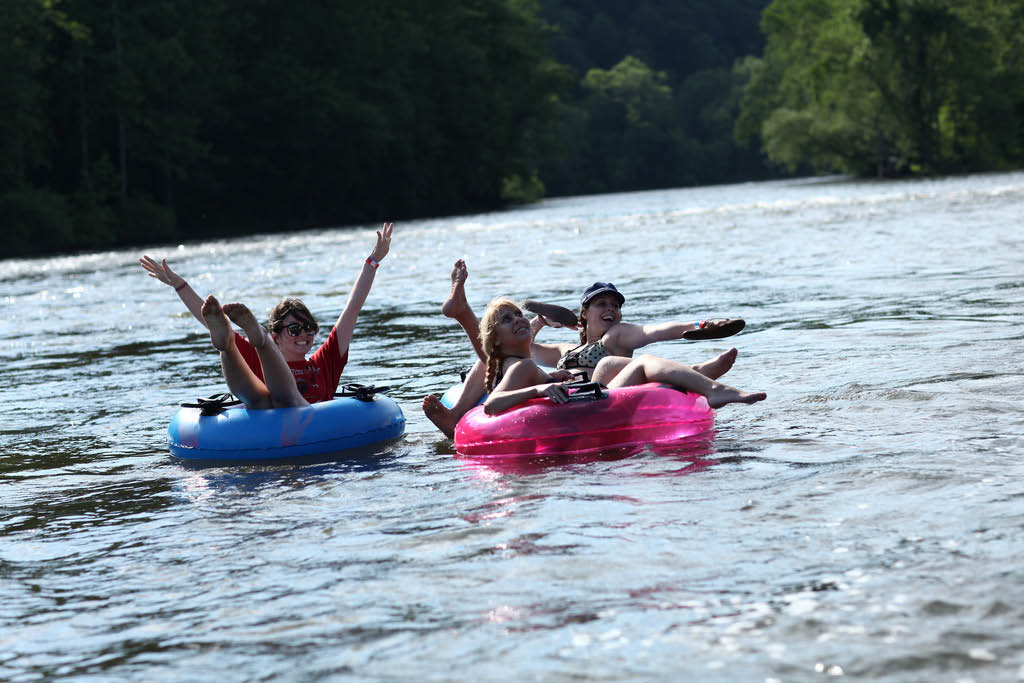 Tubing,river,lazy,hot dog,bbq,meal,free food,rentals,tubes,kayak