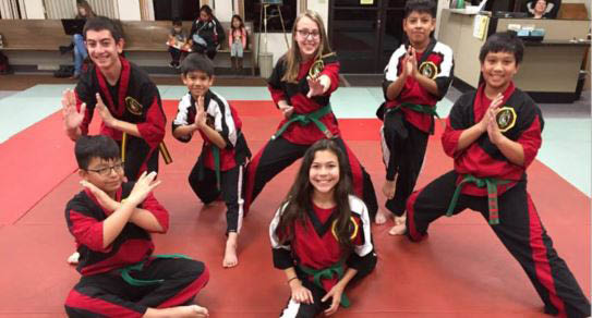 martial arts class in Vallejo, CA; youth karate classes