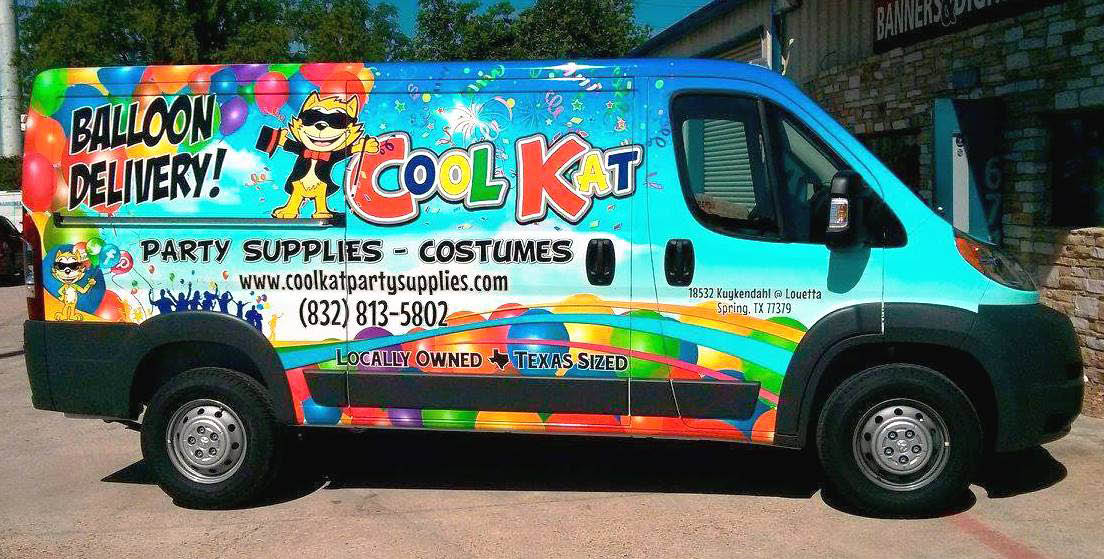 Cool Kat Party Supplies And Costumes Van in The Woodlands