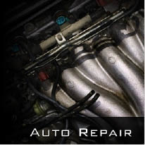 Photo of engine for auto repair.