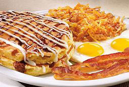 Redeem Denny's coupons to save on breakfast in Humble, TX.