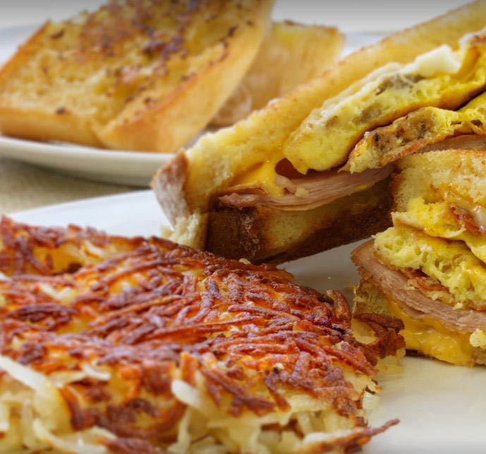 photo of breakfast sandwich from Denny's in Taylor, MI