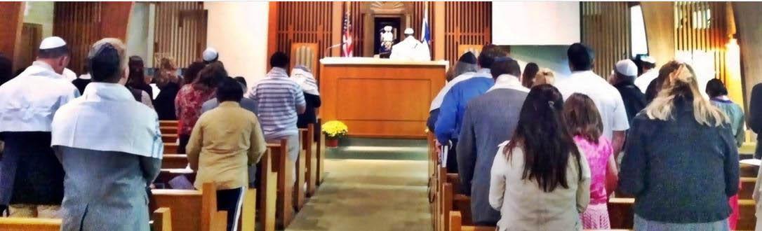 morning Jewish services at Devar Emet Messianic Jewish Outreach