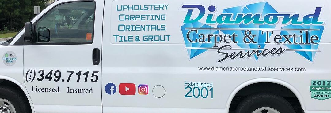 Diamond Carpet & Textile Services banner Savannah, GA