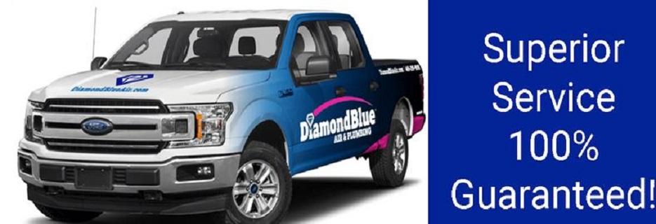Diamond Blue Air & Plumbing in TX banner