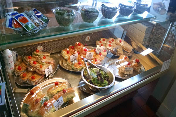 Stop by DiCamillo Bakery for lunch and enjoy quick and easy prepared foods like sandwiches and salad