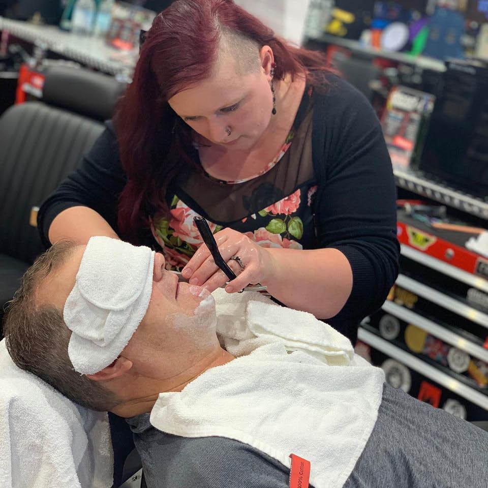Diesel Barbershop Oak Creek WI Full Service Shave
