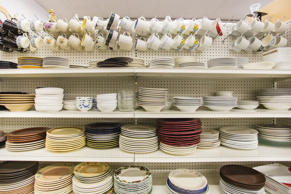 Dishes and other household items can be found at Goodwill stores in South Puget Sound, Olympic Peninsula and Central Washington state