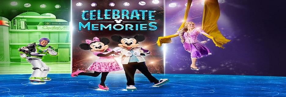 Disney On Ice - Celebrate Memories banner Hartford, CT