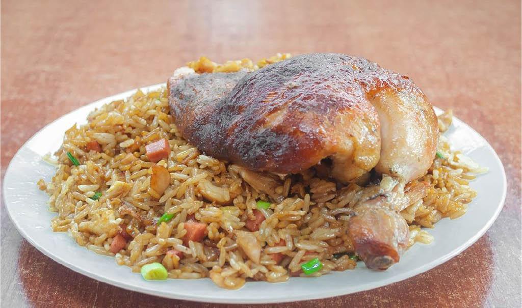 District Pollo, rotisserie chicken, Peruvian chicken, Peruvian food, chaufa, Ashburn, VA