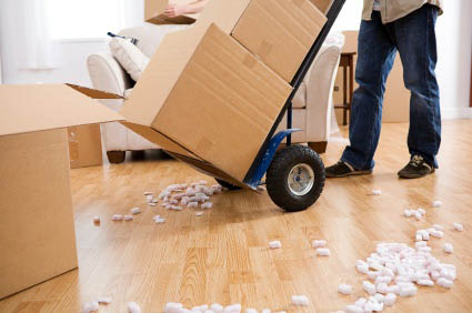 Unpacking items offered by D & J Moving in Hackettstown NJ