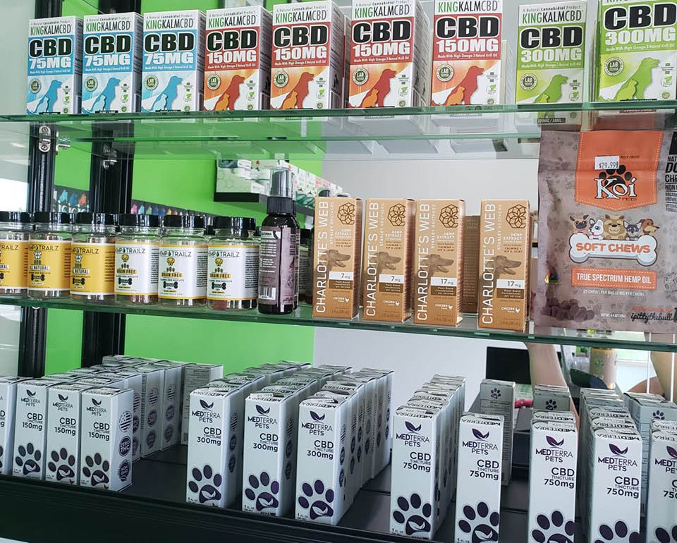 CBD dogs cats pets