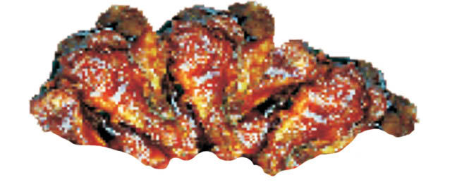 BBQ Wings at Dolly's Pizza Express in Clinton Twp, MI