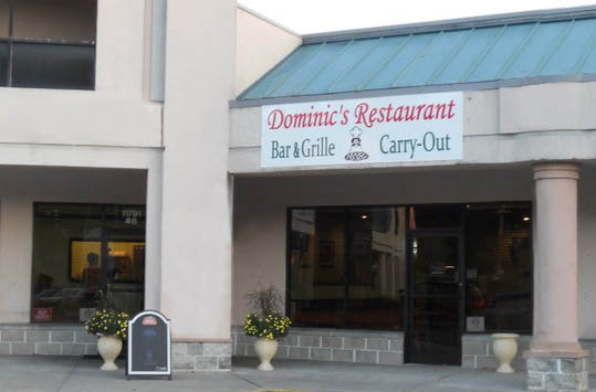 Dominic's Restaurant bar and grill in monrovia maryland dinner specials.