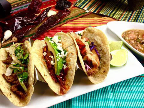 Street tacos near West Columbia