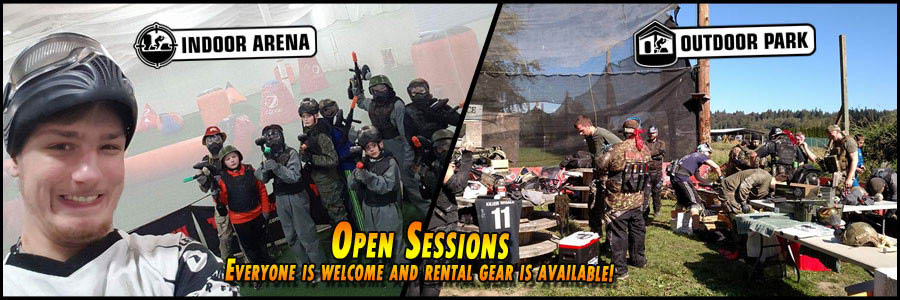 Doodlebug Sportz paintball - open sessions - everyone is welcome and rental gear is available - Everett, WA - Snohomish, WA