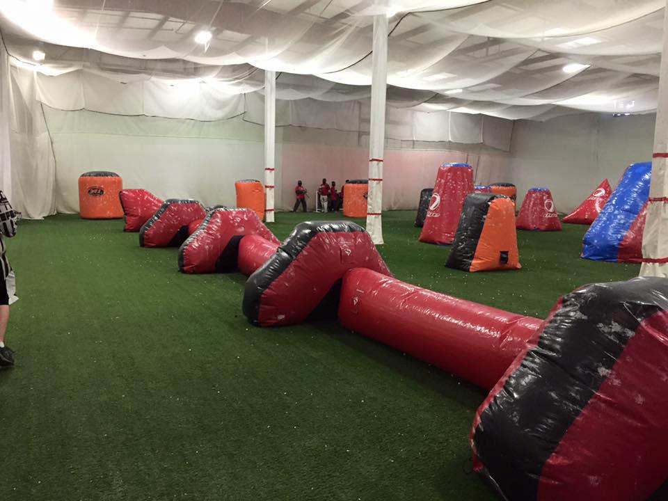 Doodlebug Sportz indoor paintball arena - Everett, Washington
