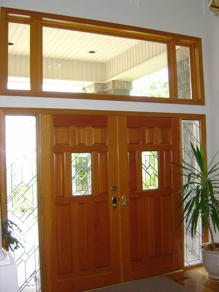 Beautiful entry door installed by Procraft Industries - professionally crafted windows and doors - window and door companies - Mountlake Terrace, WA