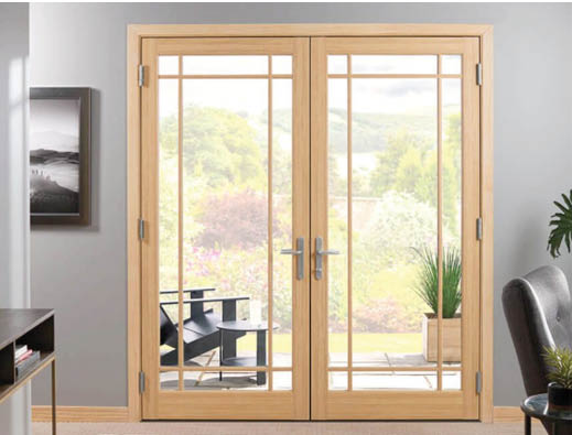 French Doors by Marvin