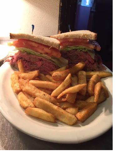 Roast Beef Sandwich at Double S Diner in Wantage NJ