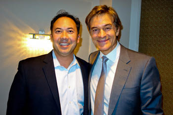 Dr. Gonzales offers advise to Dr. Oz's website