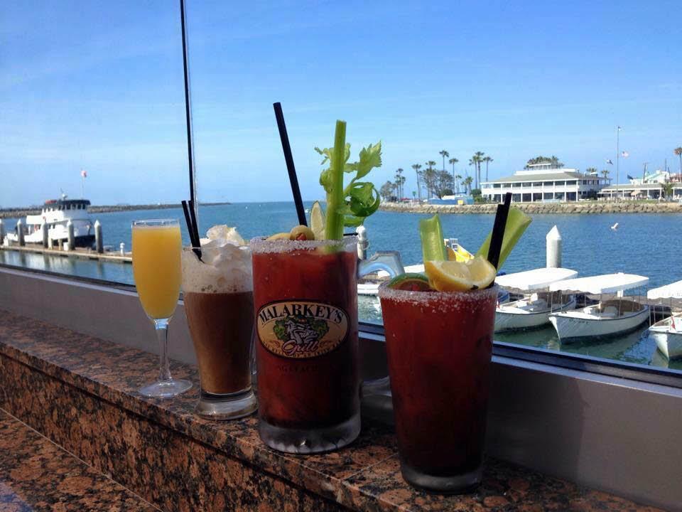 Happy hour near Seal Beach