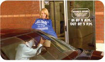 Dry Cleaning Super Center offers a covered drive-through