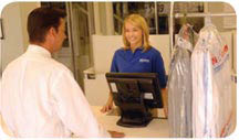 Exceptional award winning customer service in dry cleaning and laundry industry; Bartlett TN