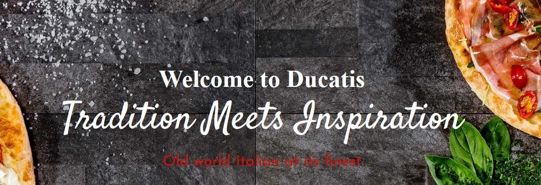 Ducatis Pizzeria & Trattoria banner Myrtle Beach, SC