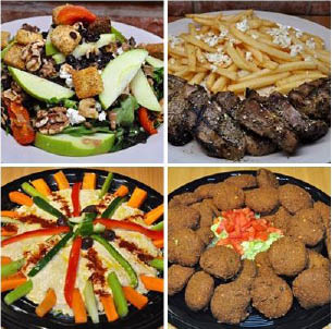 Grill House takes fast food to another level; never pre-cooked, always fresh, and prepared to your liking.
