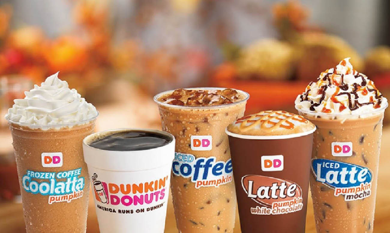 Cold, iced, frozen, latte or piping hot coffees
