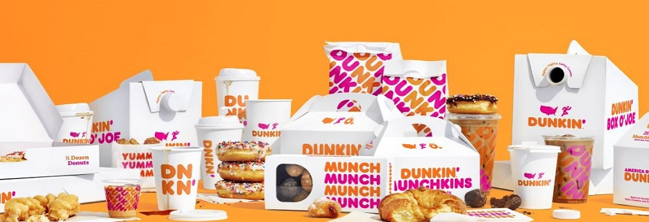 dunkin, donuts, coffee, bagels, hash browns, sandwiches, lattes