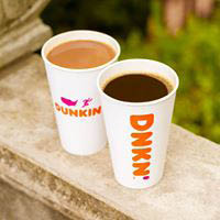 dunkin, donuts, munchkins, coffee, bagels