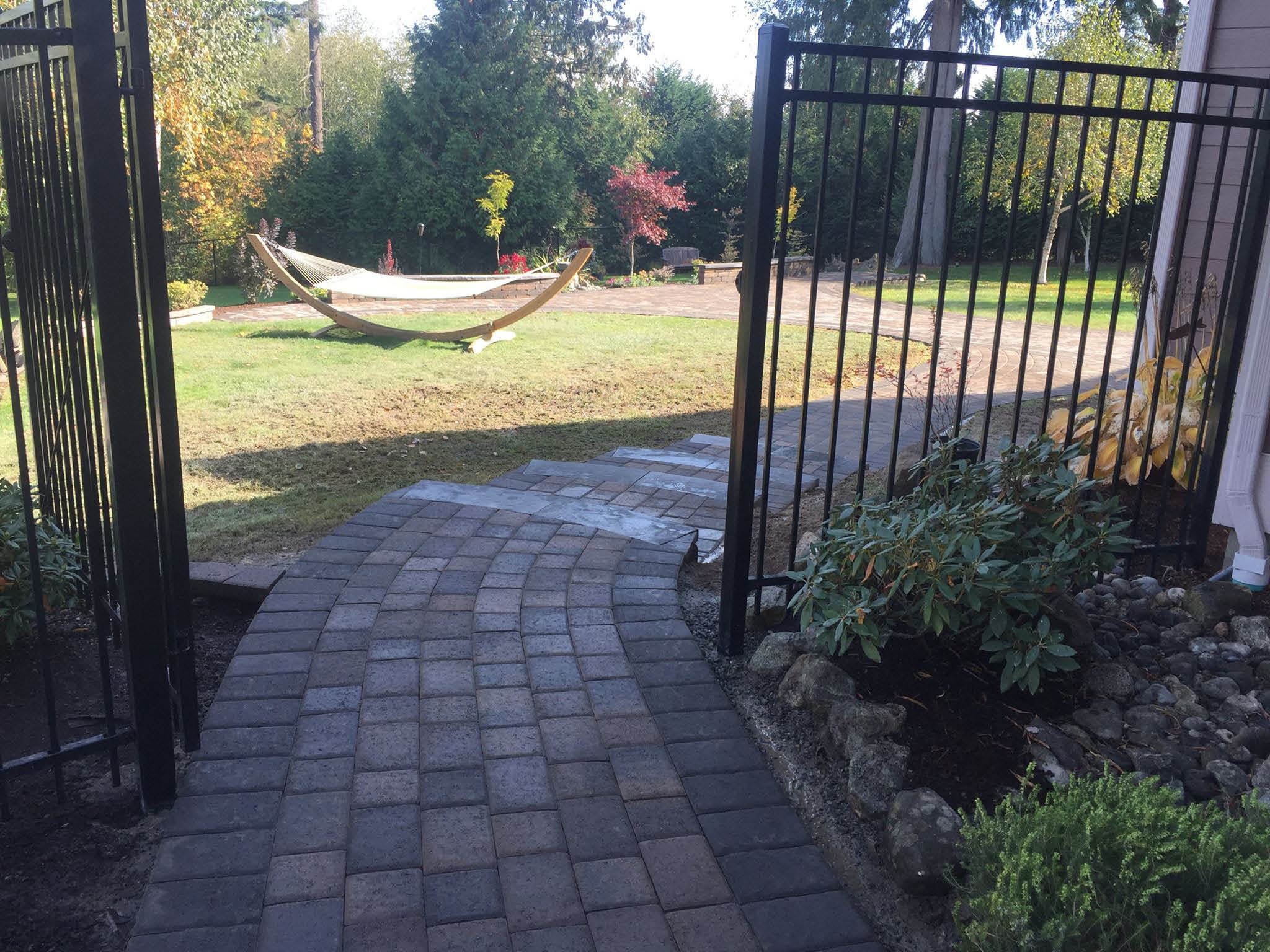 Beautiful pavers installed by E & B Landscaping - Pierce County, WA - pavers installation