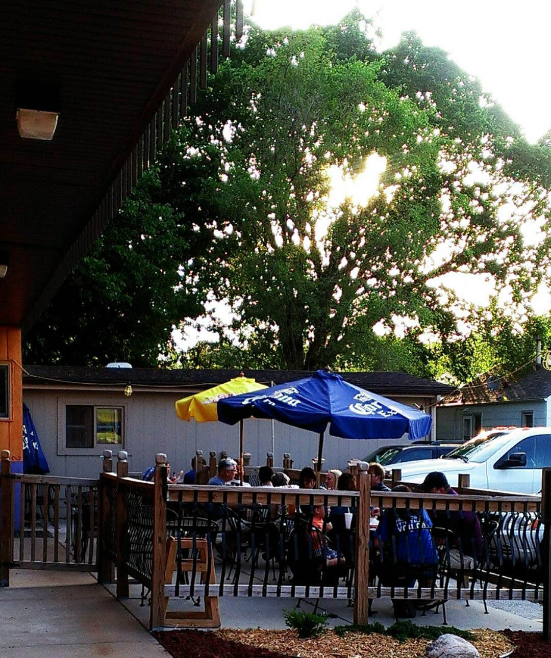 Patio Dining In Des Moines, Iowa