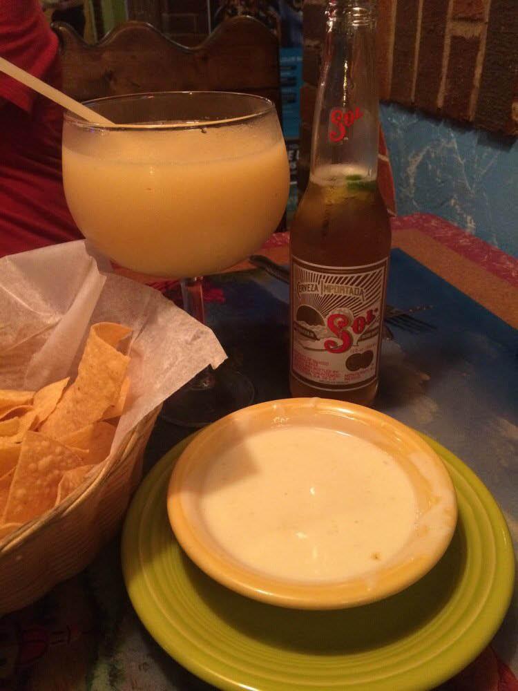 Margaritas at Mexican restaurant near Crestwood, MO