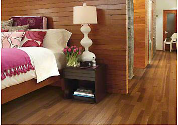 You won't be able to tell the different between laminate and hardwood flooring.