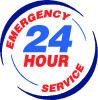 Emergency 24 hour serivce emblem