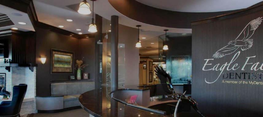 Eagle Falls Dentistry interior lobby view