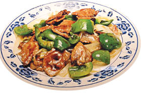 Chinese Food Pic from EB Chinese, Chicken & Vegetables Plate