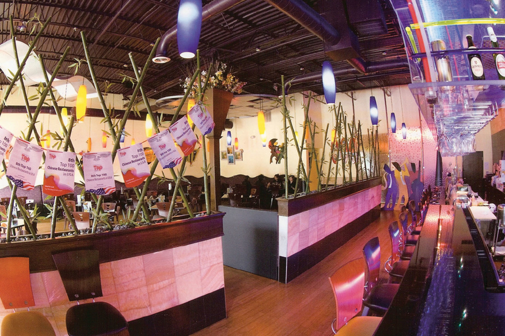 Interior of East Moon Asian Bistro