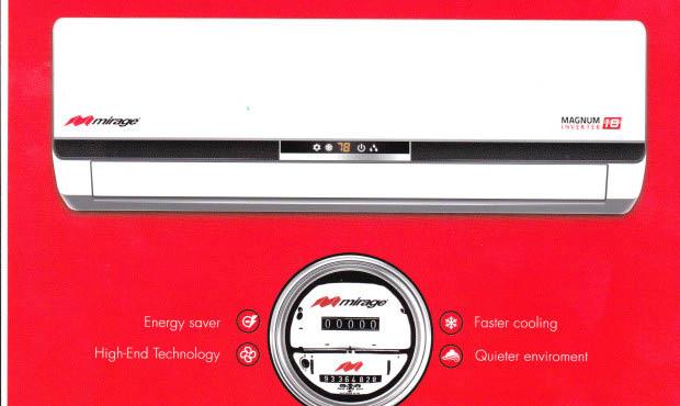 Easy Cooling & Heating - Mirage ductless mini split heat pump